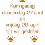 Koningsdag 2017 Letterplex Utrecht