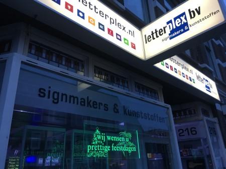 LED verlicht bord Utrecht