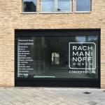 Raambelettering Utrecht Rachmaninoff