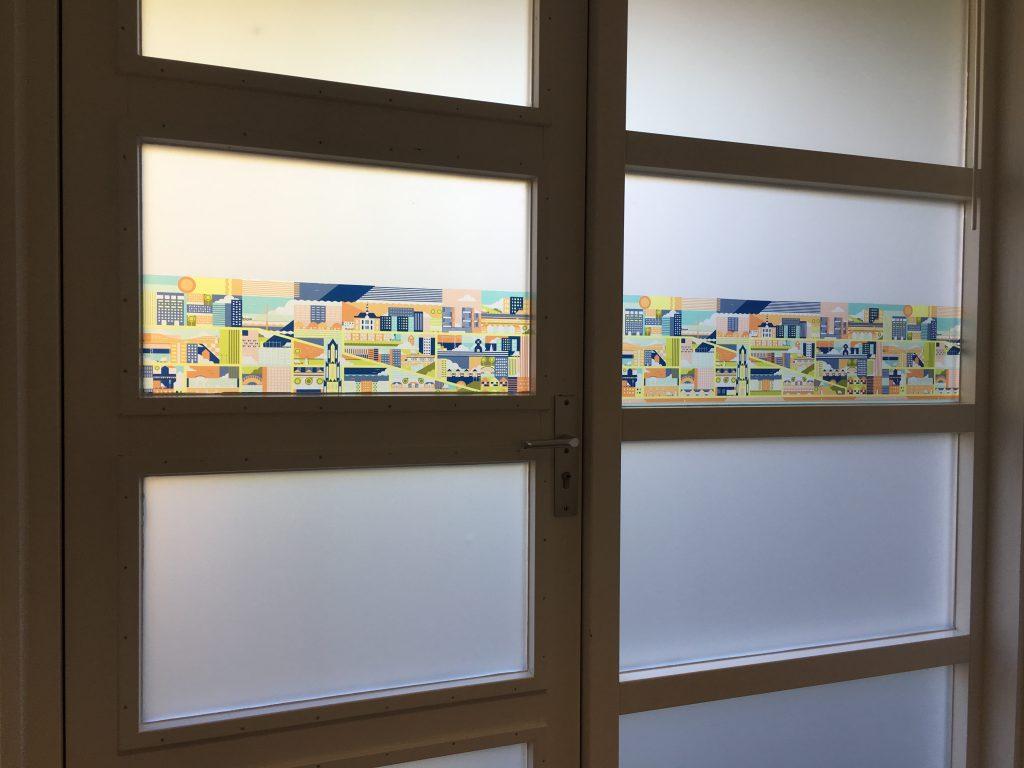 raamdecoratie letterplex